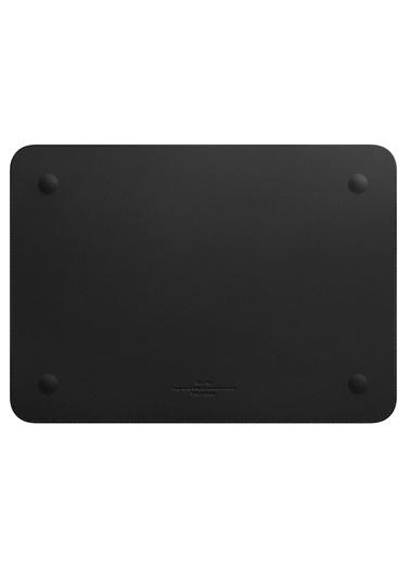 Wiwu Wiwu MacBook Pro Air Retina Çanta Koruyucu Kese Zarf Kılıf 13.3 inç Vegan Deri Sleevebag SkinPro Siyah